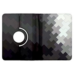 Abstract Pattern Moving Transverse Kindle Fire HDX Flip 360 Case