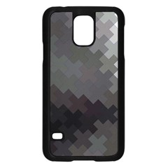 Abstract Pattern Moving Transverse Samsung Galaxy S5 Case (Black)