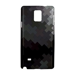 Abstract Pattern Moving Transverse Samsung Galaxy Note 4 Hardshell Case