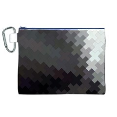 Abstract Pattern Moving Transverse Canvas Cosmetic Bag (xl)