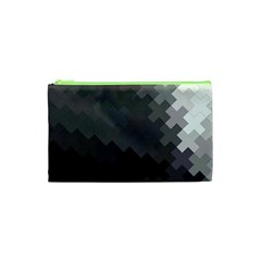 Abstract Pattern Moving Transverse Cosmetic Bag (XS)