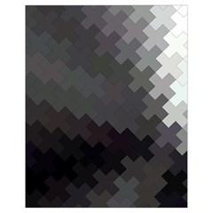Abstract Pattern Moving Transverse Drawstring Bag (Small)