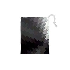 Abstract Pattern Moving Transverse Drawstring Pouches (xs)