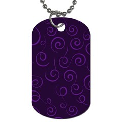 Pattern Dog Tag (Two Sides)