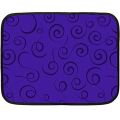Pattern Double Sided Fleece Blanket (Mini)