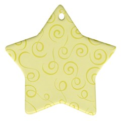 Pattern Star Ornament (Two Sides)