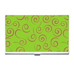 Pattern Business Card Holders Front