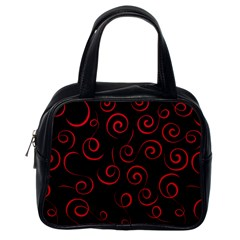 Pattern Classic Handbags (One Side)