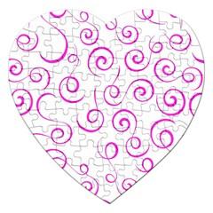 Pattern Jigsaw Puzzle (Heart)