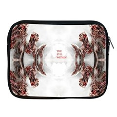 The Evil Within Demon 3d Effect Apple Ipad 2/3/4 Zipper Cases