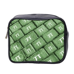 Pi Grunge Style Pattern Mini Toiletries Bag 2 Side