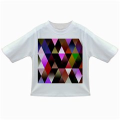 Triangles Abstract Triangle Background Pattern Infant/Toddler T-Shirts