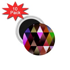 Triangles Abstract Triangle Background Pattern 1 75  Magnets (10 Pack)