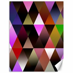 Triangles Abstract Triangle Background Pattern Canvas 12  X 16