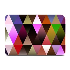 Triangles Abstract Triangle Background Pattern Plate Mats