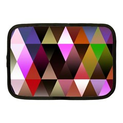Triangles Abstract Triangle Background Pattern Netbook Case (medium)