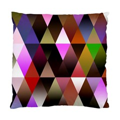 Triangles Abstract Triangle Background Pattern Standard Cushion Case (two Sides)