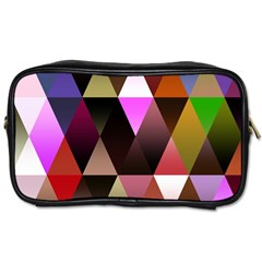 Triangles Abstract Triangle Background Pattern Toiletries Bags