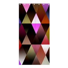 Triangles Abstract Triangle Background Pattern Shower Curtain 36  x 72  (Stall)