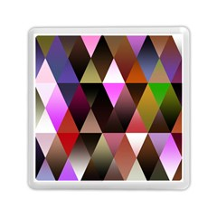 Triangles Abstract Triangle Background Pattern Memory Card Reader (square)