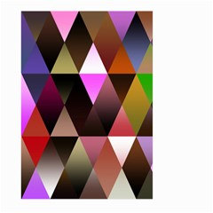 Triangles Abstract Triangle Background Pattern Large Garden Flag (two Sides)