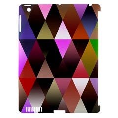 Triangles Abstract Triangle Background Pattern Apple iPad 3/4 Hardshell Case (Compatible with Smart Cover)