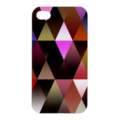 Triangles Abstract Triangle Background Pattern Apple Iphone 4/4s Premium Hardshell Case
