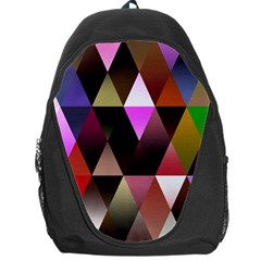 Triangles Abstract Triangle Background Pattern Backpack Bag