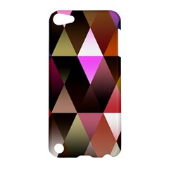 Triangles Abstract Triangle Background Pattern Apple Ipod Touch 5 Hardshell Case