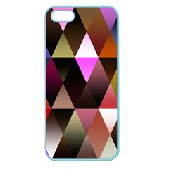 Triangles Abstract Triangle Background Pattern Apple Seamless iPhone 5 Case (Color)