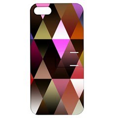 Triangles Abstract Triangle Background Pattern Apple iPhone 5 Hardshell Case with Stand