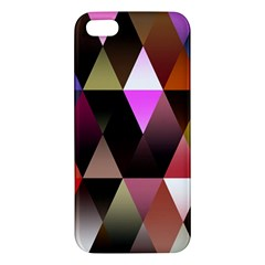 Triangles Abstract Triangle Background Pattern Apple iPhone 5 Premium Hardshell Case