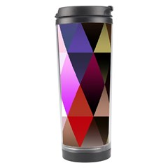 Triangles Abstract Triangle Background Pattern Travel Tumbler