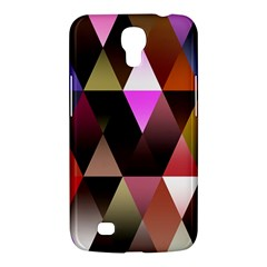 Triangles Abstract Triangle Background Pattern Samsung Galaxy Mega 6.3  I9200 Hardshell Case