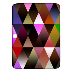 Triangles Abstract Triangle Background Pattern Samsung Galaxy Tab 3 (10.1 ) P5200 Hardshell Case