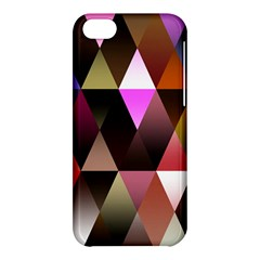 Triangles Abstract Triangle Background Pattern Apple iPhone 5C Hardshell Case