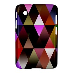 Triangles Abstract Triangle Background Pattern Samsung Galaxy Tab 2 (7 ) P3100 Hardshell Case