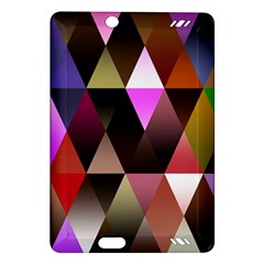 Triangles Abstract Triangle Background Pattern Amazon Kindle Fire HD (2013) Hardshell Case