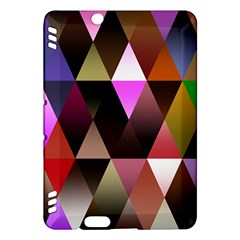 Triangles Abstract Triangle Background Pattern Kindle Fire HDX Hardshell Case