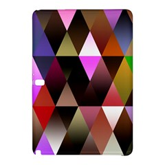 Triangles Abstract Triangle Background Pattern Samsung Galaxy Tab Pro 10.1 Hardshell Case