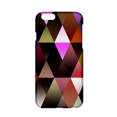 Triangles Abstract Triangle Background Pattern Apple iPhone 6/6S Hardshell Case
