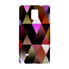 Triangles Abstract Triangle Background Pattern Samsung Galaxy Note 4 Hardshell Case