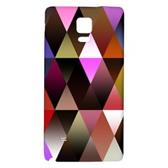 Triangles Abstract Triangle Background Pattern Galaxy Note 4 Back Case