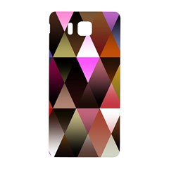 Triangles Abstract Triangle Background Pattern Samsung Galaxy Alpha Hardshell Back Case