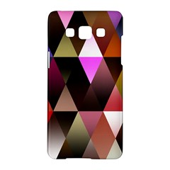 Triangles Abstract Triangle Background Pattern Samsung Galaxy A5 Hardshell Case