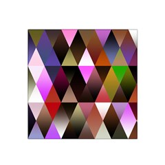 Triangles Abstract Triangle Background Pattern Satin Bandana Scarf