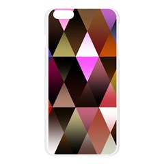 Triangles Abstract Triangle Background Pattern Apple Seamless iPhone 6 Plus/6S Plus Case (Transparent)