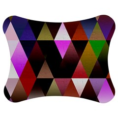 Triangles Abstract Triangle Background Pattern Jigsaw Puzzle Photo Stand (bow)