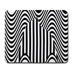Stripe Abstract Stripped Geometric Background Large Mousepads