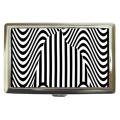 Stripe Abstract Stripped Geometric Background Cigarette Money Cases